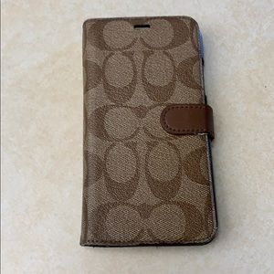 Coach iPhone 10r case